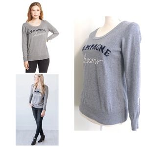 Chaser Champagne Dreams Pullover Sweater